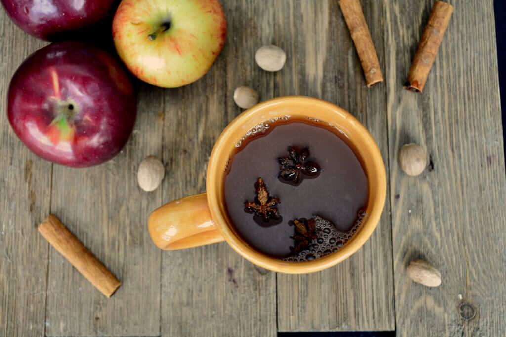homemade apple cider is naturally kidney friendly and so fragrant and delicious | low potassium | renal diet