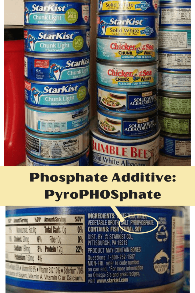 Tuna WITH Phosphate Additive |renal diet|