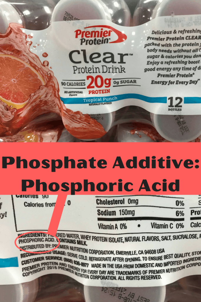 Flavored Water WITH Added Phosphates! |renal diet|
