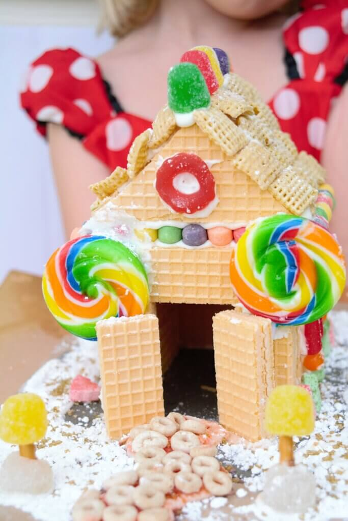 gingerbread substitute fun holiday activity for kid with kidney disease