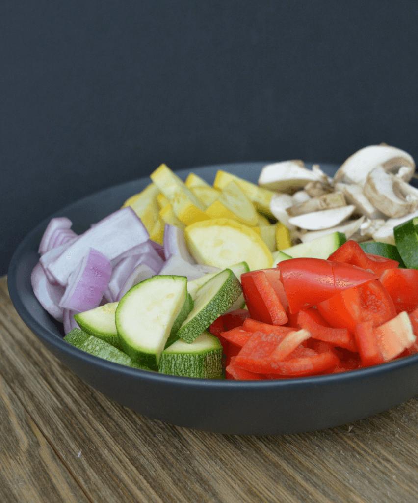Renal Friendly Fresh Cut Vegetables